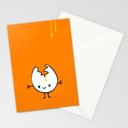 Mr Egg Stationery Cards