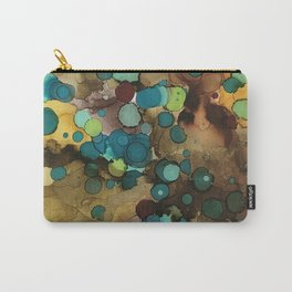Teal drops of nature Carry-All Pouch