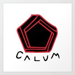 Calum Art Print