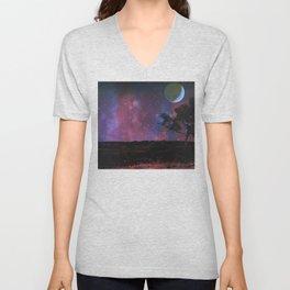 Autumn Moon Unisex V-Neck