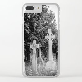 Garden of the Departed Clear iPhone Case
