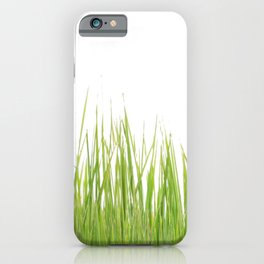 Green Grass Covering iPhone Case