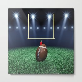 American Football stadium Metal Print