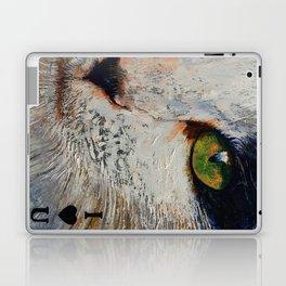 I Love You Cat Laptop & iPad Skin