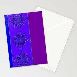 Rainbow Microbe Stationery Cards