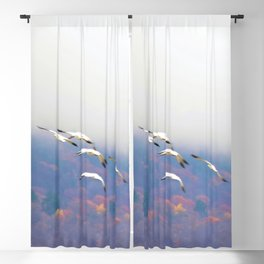 Flying in the Fog: Snow Geese Blackout Curtain