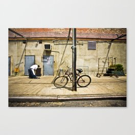 Meat Packers Canvas Print