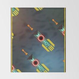 Transistor Swords Throw Blanket