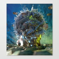 Avesso Canvas Print
