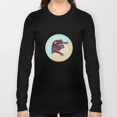 Climbing Raccoon Long Sleeve T-shirt