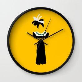 Fashion Icon: Carmem Miranda Wall Clock