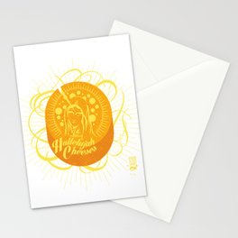Hallelujah Cheeses Stationery Cards