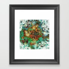 Standing Upon the Threshold with Nothing to Hide Framed Art Print