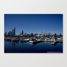 South Side Skyline (Chicago Northerly Island Collection) Canvas Print