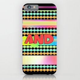 LARGE AND IN CHARGE iPhone Case