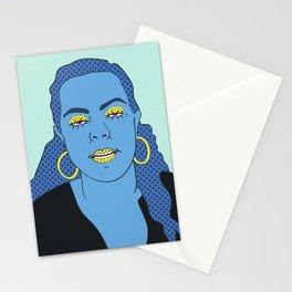 Gina (Aqua) Stationery Cards