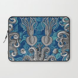 The Kraken (Blue - No Text, Alt.) Laptop Sleeve