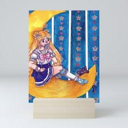 Candy Moon Mini Art Print