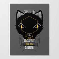 Le Chat Sinistre Canvas Print
