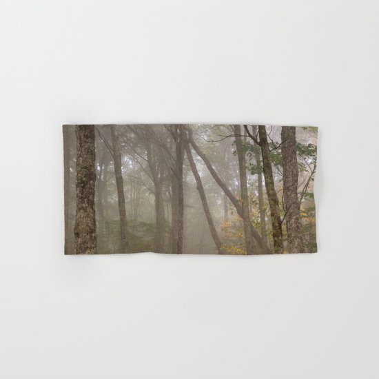 Misty Spruce Knob Forest Hand & Bath Towel