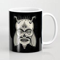 Three-Eyed Skull with Unibrow Mug
