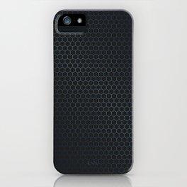 Honeycomb sheen iPhone Case