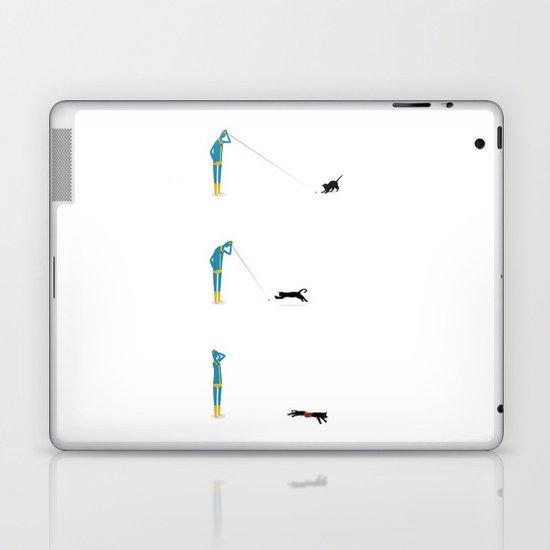 Cyclops' Cat Laptop & iPad Skin