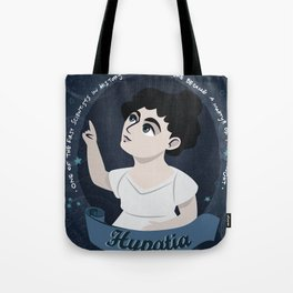 Women in science | Hypatia, mathematician, astronomer, philosopher Tote Bag