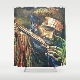 Irian People Shower Curtain