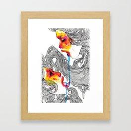 Quench Framed Art Print