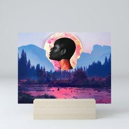 Mother nature devastation Mini Art Print