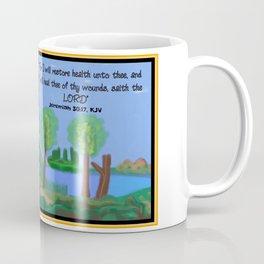 Jeremiah 30:17, KJV Coffee Mug