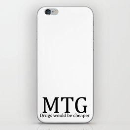 MTG: Drugs would be cheaper iPhone Skin