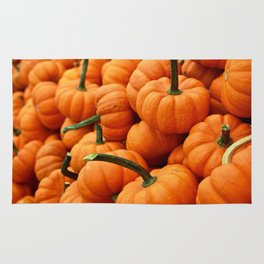 Autumn Pumpkins Rug