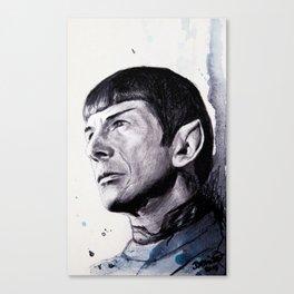 Goodbye Mr. Spock - Leonard Nimoy Canvas Print