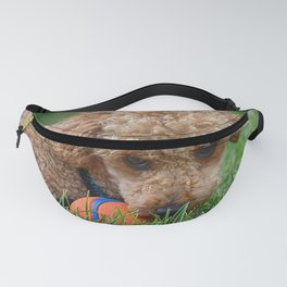 Poodle Puppy Fanny Pack