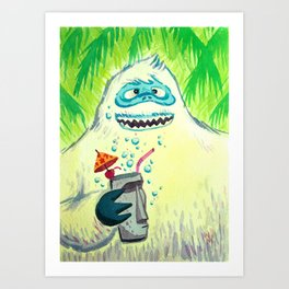Bumbles in the Mix Art Print