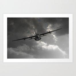 RAF C-130 Transport Art Print