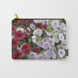 Cascade Of Petunias Carry-All Pouch