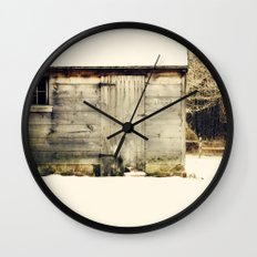 Out back Wall Clock