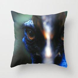 Cassowary Bird Throw Pillow
