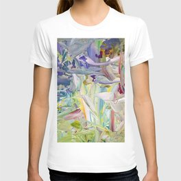 Abstracted Spring Iris T-shirt