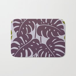 PLANTS - philodendron#3_Purple Bath Mat