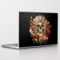 kindle Laptop & iPad Skins featuring 301 by ALLSKULL.NET