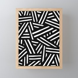 Monochrome 01 Framed Mini Art Print