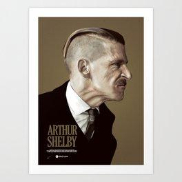 ARTUR SHELBY Art Print