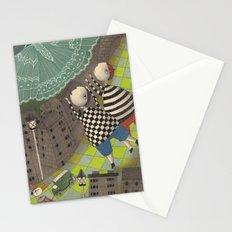 Night flight (1) Stationery Cards