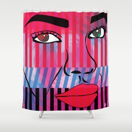 Ready for My Close Up Shower Curtain