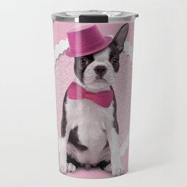Boston Terrier Puppy Travel Mug