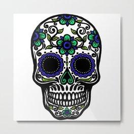 Sugar Skull 11 Metal Print
